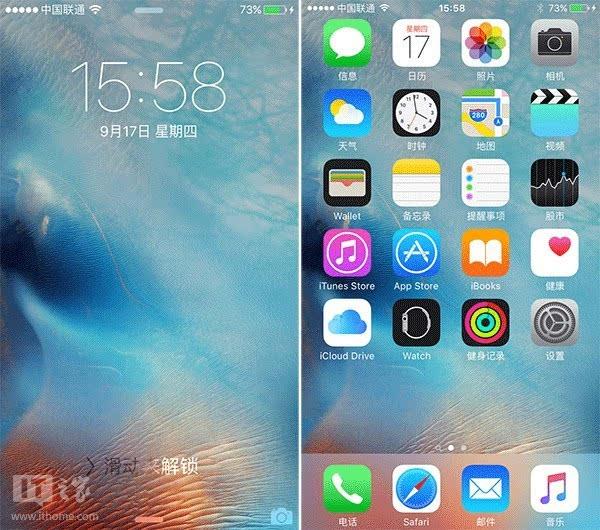 苹果网页卡片式界面_iOS9带来全新卡片式应用切换界面