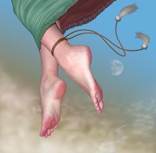 古代缠足:三寸金莲是女人最隐私部位