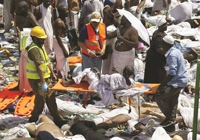 沙特麦加踩踏事故