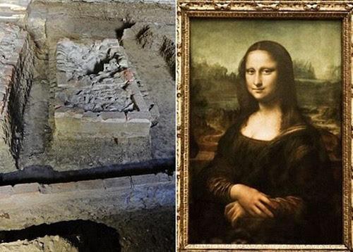下骸骨大的囹�a_考古学家经碳质测试后,相信骸骨本可能就是属于蒙娜莉萨.