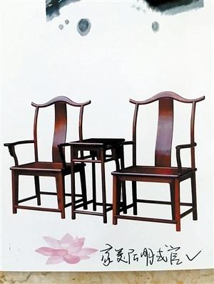 中国台山传统红木家具精品热销中
