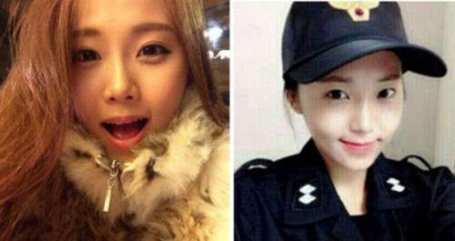 韩国最美女警察性感照流出 天使面孔魔鬼身材