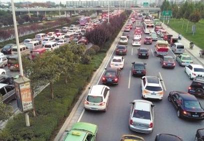 郑州国庆返程高峰 易堵施工路段提示 高速绕行路段公示图