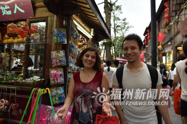 福州文化旅游热气腾腾 三坊七巷