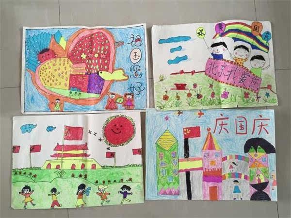 愛國兒童繪畫作品