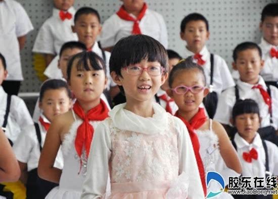 开发区第八小学让红歌希望校园活动唱响青海结束图片小学图片