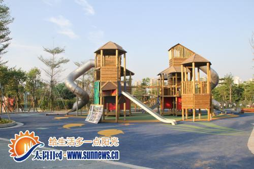 儿童公园二期快开园啦