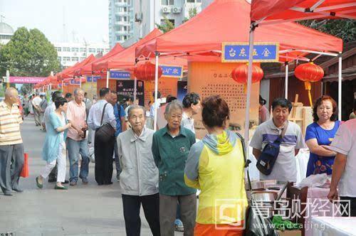 """引起了""""老青岛""""的传统记忆;尤其是9月29日""""青岛老字号企业协会""""正式"""