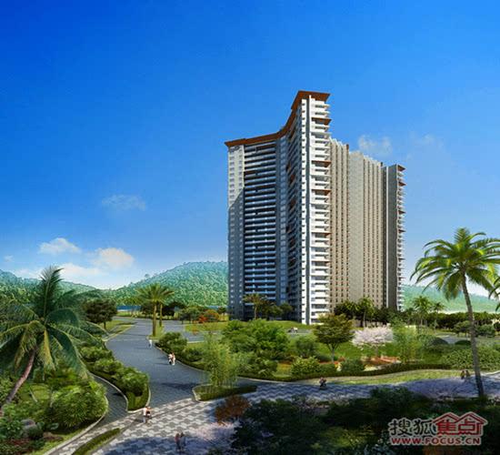 文昌合景·月亮湾一线海景公寓均价8500元/平