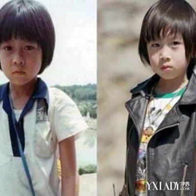 林志颖小时候照片曝光