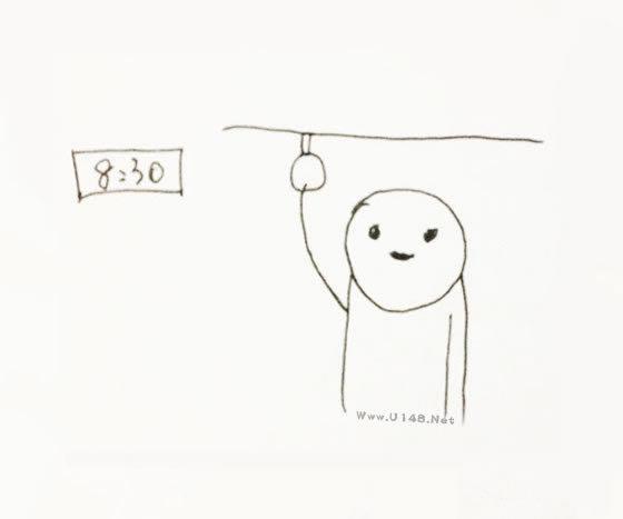 简笔画:我的生活日常之《工作日》