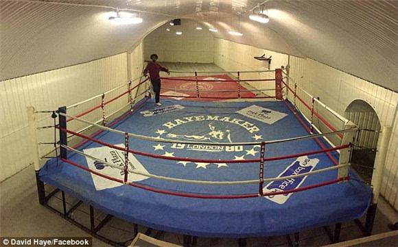 拳击冠军大卫 海耶关闭健身房 拍卖拳击台标价