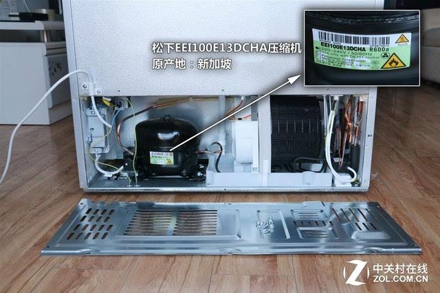 冰箱结构拆解图