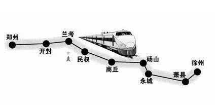米字新笔画 两条开建一条获批 郑万河南段将开工