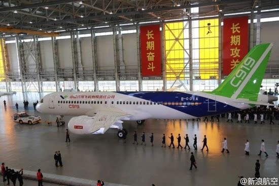 这就是中国自主研发大飞机c919
