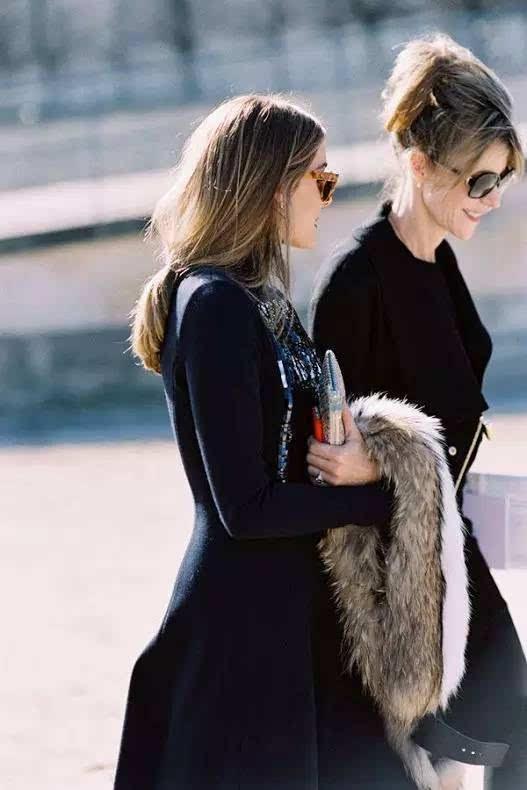 潮 法国女人的黑色优雅手册