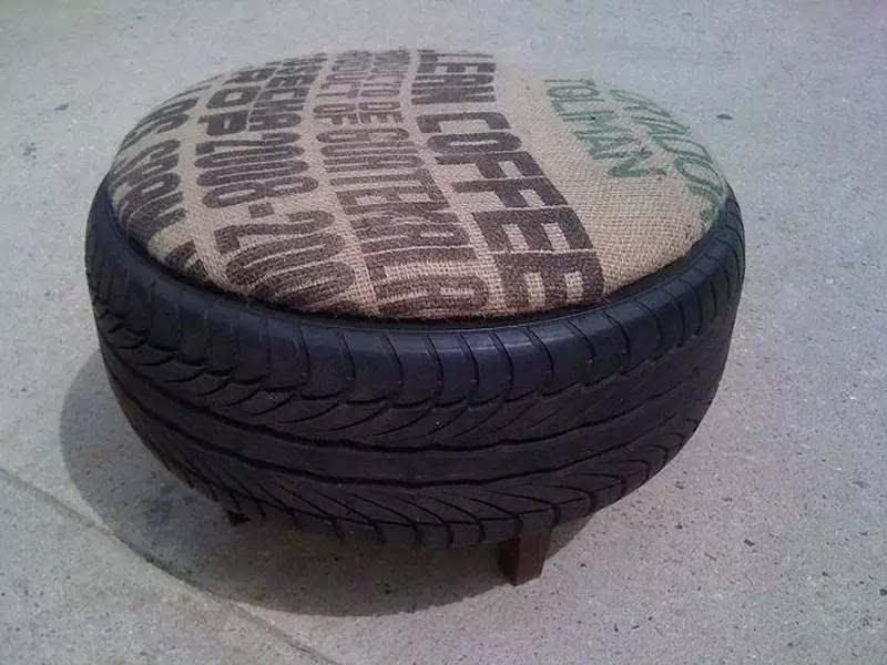 巅峰创意 逆袭的旧轮胎让设计师都醉了