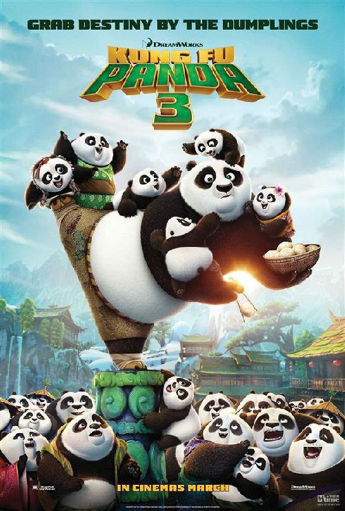 中文配音大亮 功夫熊猫3 明年1月正式上映