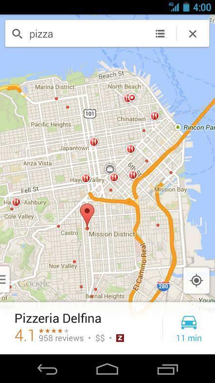 谷歌地图无网络行车导航功能正式上线