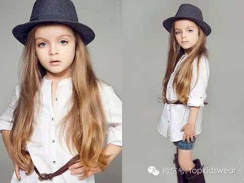 最红俄罗斯童装小模特 milana kurnikova