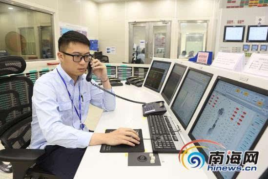 海南昌江核电工作人员扎根乡村