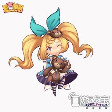 萝莉女仆丽塔在《巨龙城堡》中也有超高的人气.