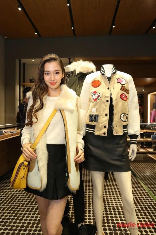 学唐嫣baby 如何穿在冬天逛街时髦又保暖?
