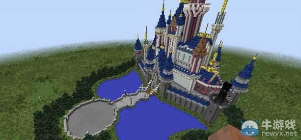 《我的世界》迪士尼城堡地图图片