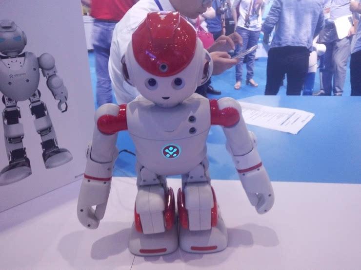 仿人形机器人