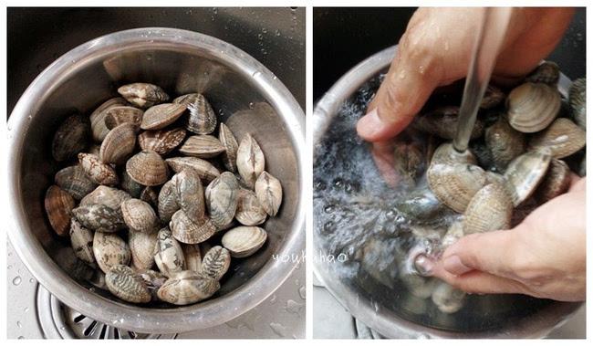 吃螃蛤蜊的步骤图解