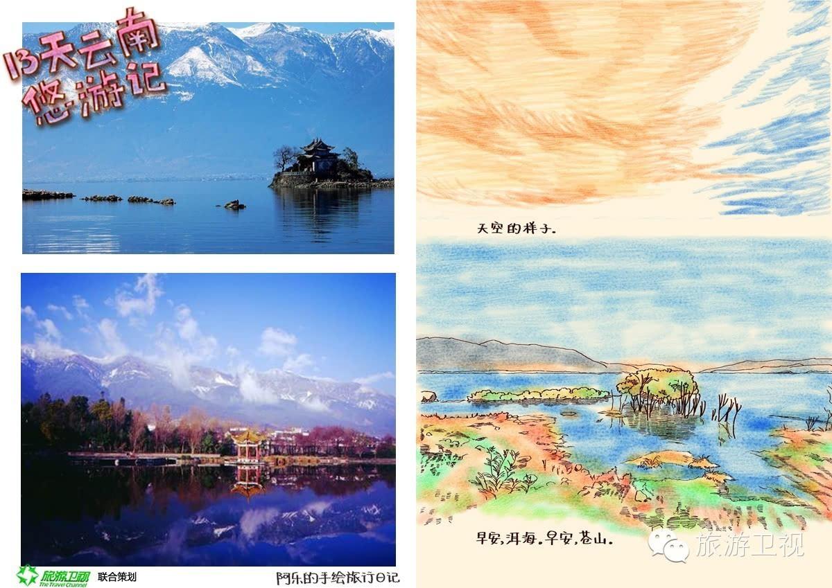 阿乐的手绘旅行日记——13天云南悠游记