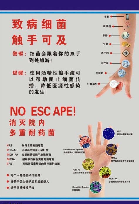 手卫生hand hygiene能极大地减少医院感染hospital infection并降低