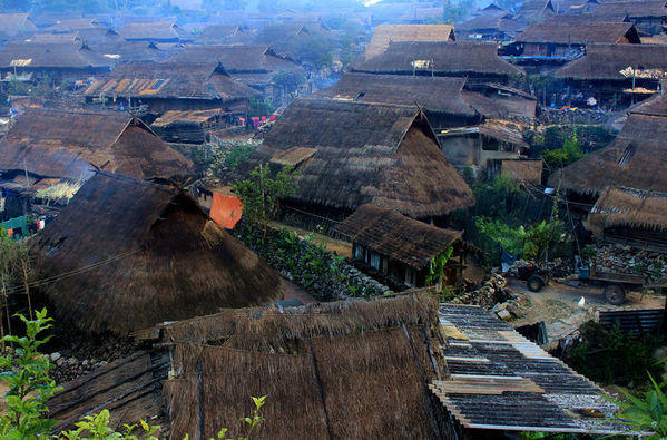翁丁村,中国最后一个原始部落