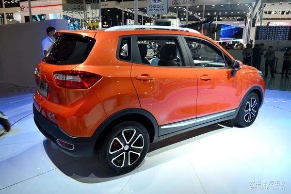长安CS15将于2月上市 定位小型SUV_车猫网