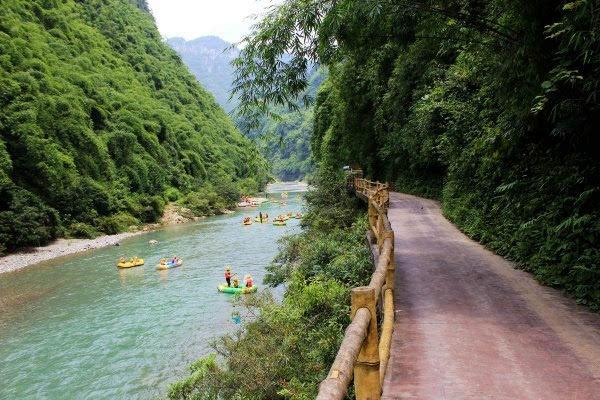 彭水阿依河,忆一次夏日的漂流之旅