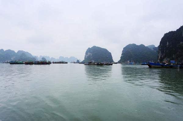 越南下龙湾,丽星游轮初体验
