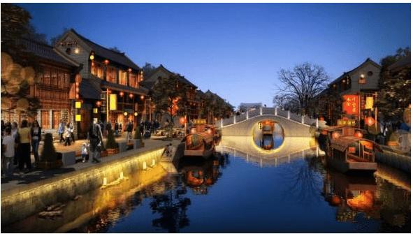 以泉带园、引水造景!济源打造水文化生态慢城