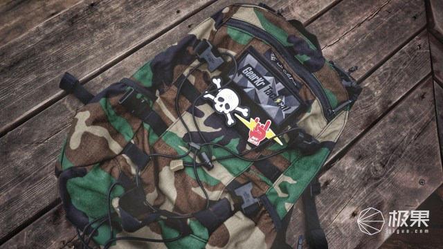 背了這個包,生活才能更騷包騷包 | Lii Gear MR.BIG迷彩背包體驗
