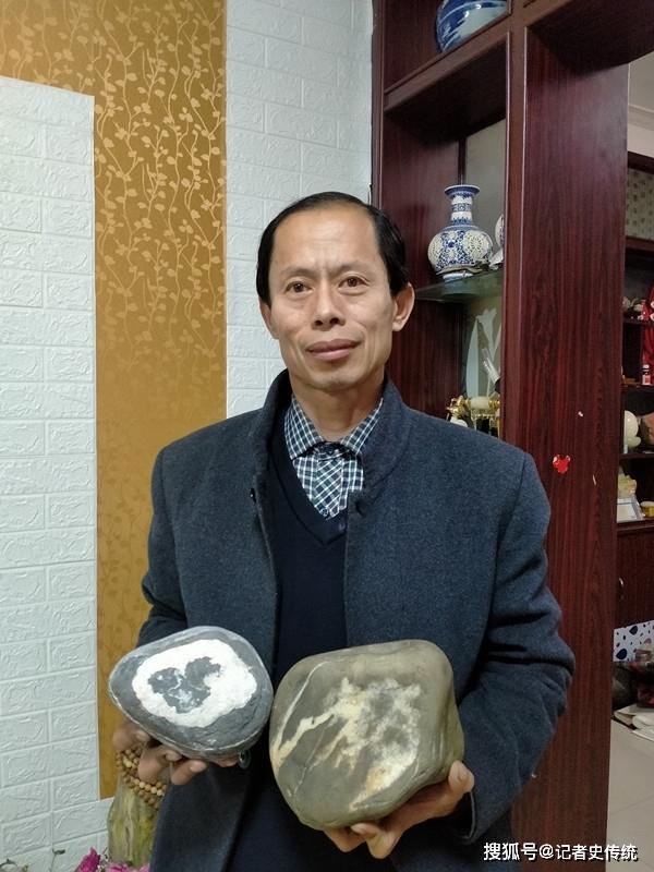 红色藏家王清君要向华为捐献《华为梦·中国龙》天然奇石