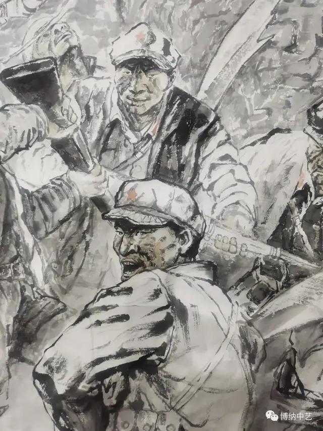 王晓银大型西路军主题美术作品《西路军血战永昌》创作纪实