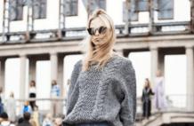 """""""毛衣+九分裤""""才是入秋的最佳之选,保暖之余还洋气显瘦"""