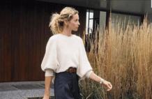 毛衣+西装裤=2020秋冬潮流混搭,恰到好处的高级,太气质了