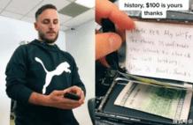 男子修手机藏现金和纸条:别修好,我老婆想看通话纪录,店员选择这样做