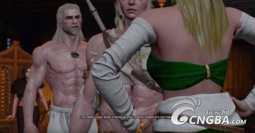 肌肉大萝莉_《巫师3》碉堡妓院bug 希里事后变身肌肉萝莉