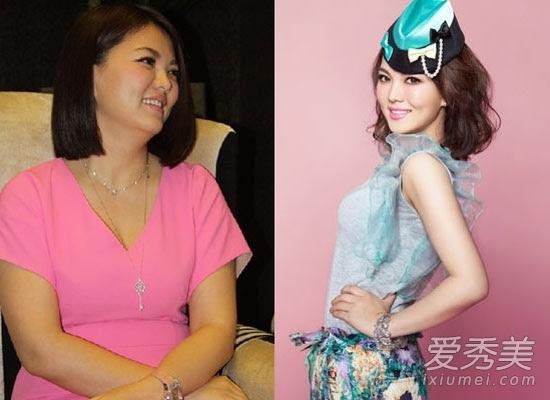 李湘胖时多少斤_11位女星告诉你120斤90斤差多少