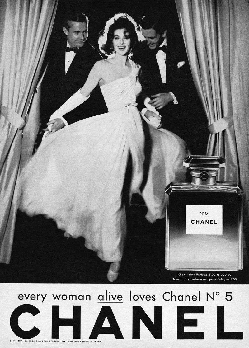 那些经典的香奈儿香水广告词(1)