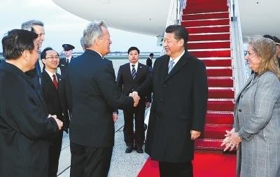 习近平抵美出席核安全峰会