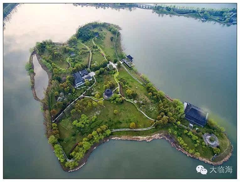 臨海靈湖景區地圖