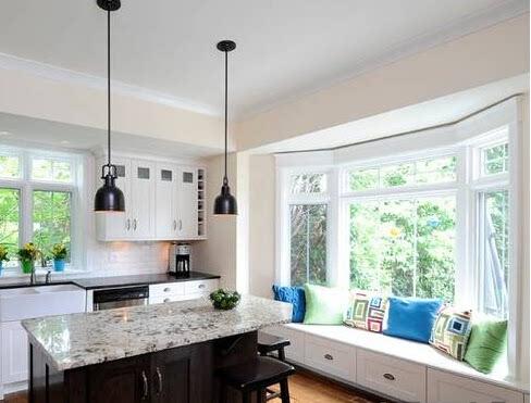 13个阳台飘窗装修效果图 厨房餐厅的实用通透(图)