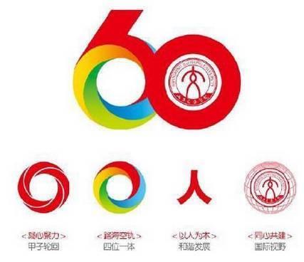 (山東交通學院60周年校慶標志)圖片